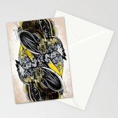 Bird sleeping Stationery Cards