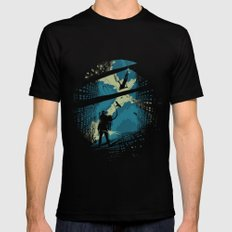 Travelers Mens Fitted Tee SMALL Black