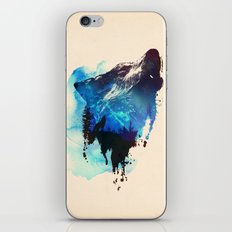 Alone as a wolf iPhone & iPod Skin