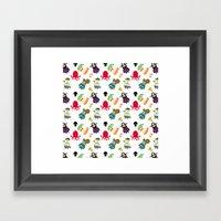The Crew ( Pattern Versi… Framed Art Print