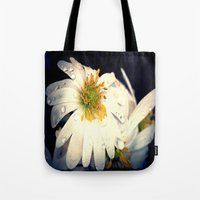 Anemone In The Darkness Tote Bag