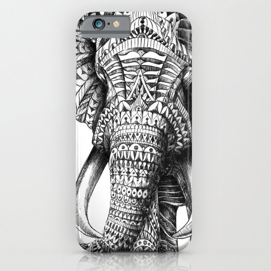Ornate Elephant iPhone & iPod Case