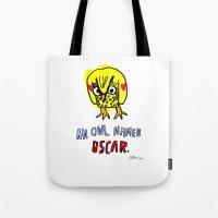AN OWL NAMED OSCAR Tote Bag