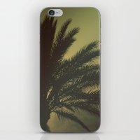 Mysterious sunset iPhone & iPod Skin