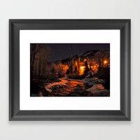 Deep Utah Framed Art Print