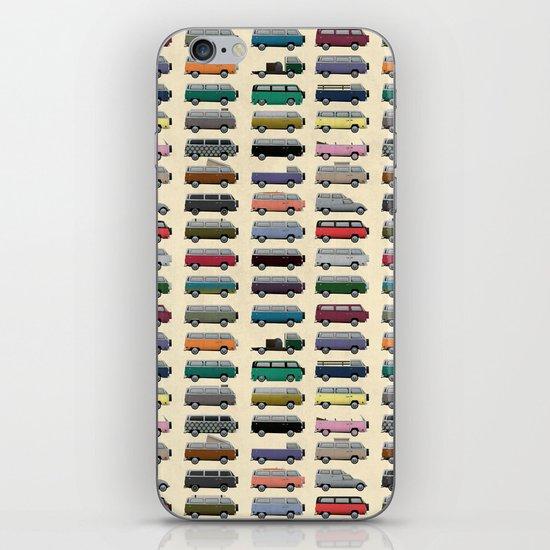 Camper Van iPhone & iPod Skin
