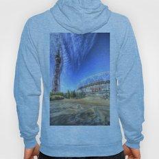 West Ham Olympic Stadium And The Arcelormittal Orbit  Hoody