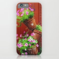 Potted Petunias iPhone 6s Slim Case