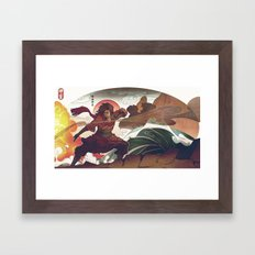 Avatar State Framed Art Print