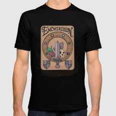 Enchiridion SMALL Mens Fitted Tee Black