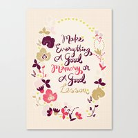 Make Everything Canvas Print
