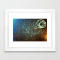Untanglement - fresh air Framed Art Print