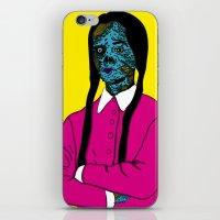 Merlina iPhone & iPod Skin