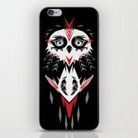 American Indian owl iPhone & iPod Skin
