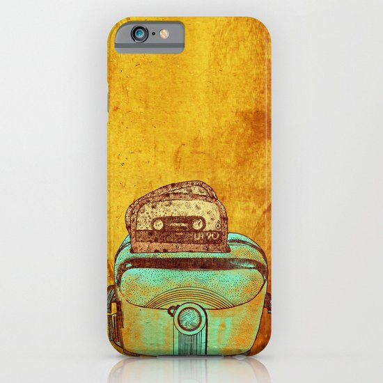 toasted tapes iPhone & iPod Case