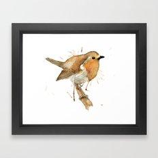 Ready Robin Framed Art Print
