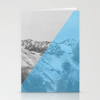 NEON NATURE   Blue Stationery Cards