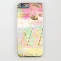 Wild Flower Glitch iPhone 6 Slim Case