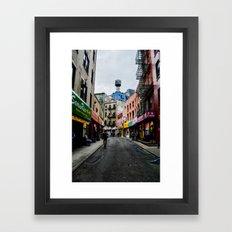 Doyers Street Framed Art Print