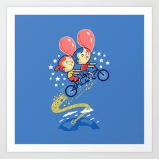 Bubble Power Art Print