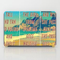 Girl from Ipanema – Triptych – A Hell Songbook Edition iPad Case
