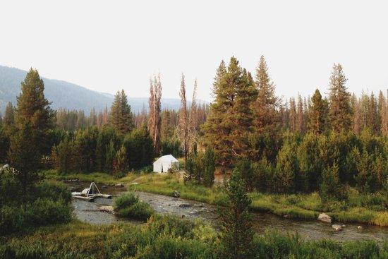 Idaho Camper Canvas Print