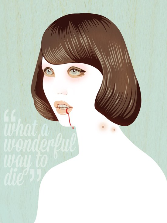 What a Wonderful Way to Die Art Print