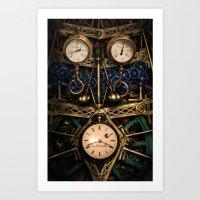 Pressure Over Time Art Print