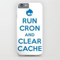 Run Cron and Clear Cache iPhone 6 Slim Case