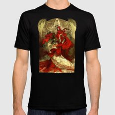 Masque of the Red Death Mens Fitted Tee Black SMALL