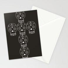 skull cross Stationery Cards