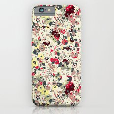 painted floral Slim Case iPhone 6s