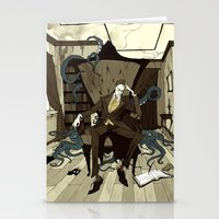 H.P. Lovecraft Stationery Cards