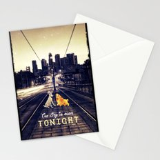 The city is ours tonight - for iphone Stationery Cards