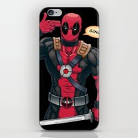 The Merc With a Mouth iPhone & iPod Skin