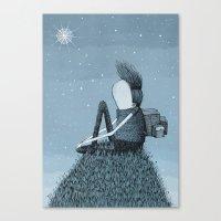 'Hill' Canvas Print