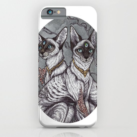 Gift of Sight art print iPhone & iPod Case