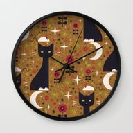Cat & Mouse  Wall Clock