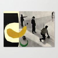 YELLOWCURL Canvas Print