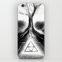 Triforce Roots iPhone & iPod Skin