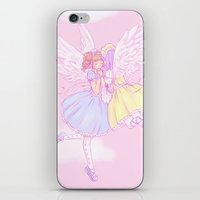 Sweet lolita angels iPhone & iPod Skin