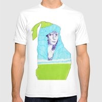 A Traveler  Mens Fitted Tee White SMALL
