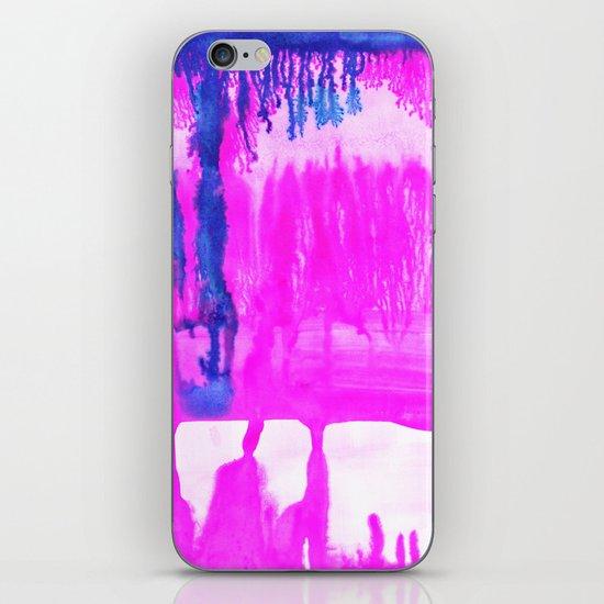 Dip Dye Hot Pink iPhone & iPod Skin