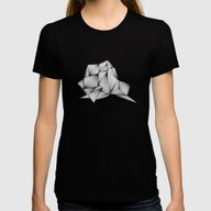 Structure (XYZ) Womens Fitted Tee Black LARGE