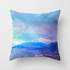 Sierra Nevada, Spain Throw Pillow