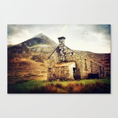 Highland Bothy Canvas Print