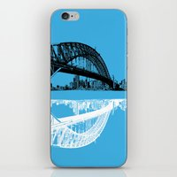 sydney in blue iPhone & iPod Skin