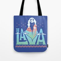 One Lava Tote Bag