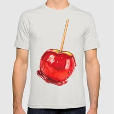 Candy Apple Mens Fitted Tee Silver SMALL