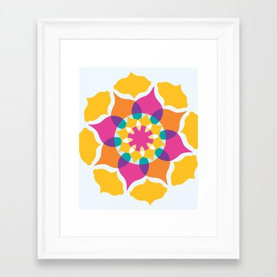 Majestic Swirl Framed Art Print
